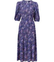 känning yaslimana 2/4 midi smock dress