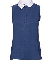 carrol sl polo shirt t-shirts & tops polos blå daily sports
