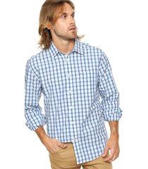 camisa blanca tommy hilfiger regular fit crosby plaid shirt