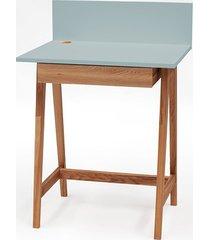 biurko luka dębowe 65x50cm z szufladą