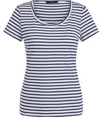 gestreepte t-shirt beau  blauw