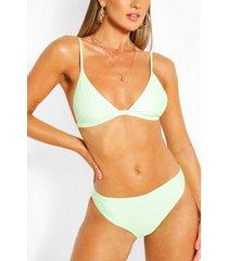 mix & match itsy bitsy bikini top, mint