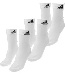 calcetines blancos adidas performance per ankle t 3pp