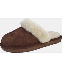 pantufla slipper camel chalada
