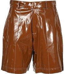 gcds vinyl shorts