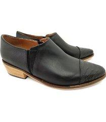 botineta negra abryl calzados berlin
