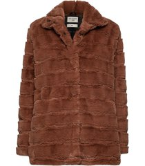 novel outerwear faux fur brun tiger of sweden jeans