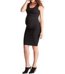 women's ingrid & isabel ruched maternity tank dress