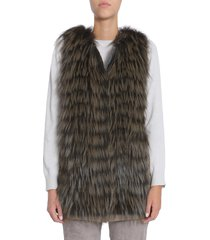 fabiana filippi sleeveless down jacket