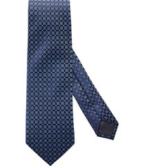 men's eton medallion silk tie