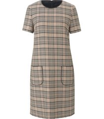 jurk in lichte a-lijn korte mouwen van windsor multicolour