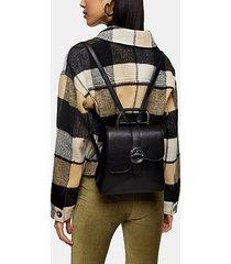 polly black buckle backpack - black