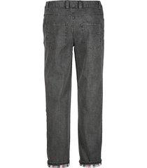 fodrade jeans babista grå