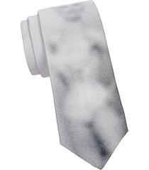 faded silk tie