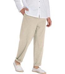 pantaloni traspiranti da uomo in cotone 100% traspirante