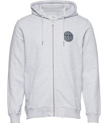 esker hooded sweatshirt hoodie trui grijs makia