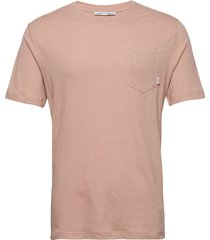 didelot l t-shirts short-sleeved beige tiger of sweden