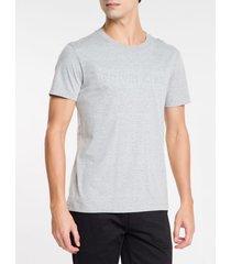 camiseta masculina cinza mescla - pp