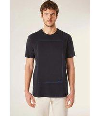 camiseta estampada silencio vj reserva preto - preto - masculino - dafiti