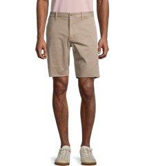 madewell men's raw-hem chino shorts - tan - size 32