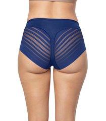 panty clasico azul leonisa 012903