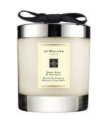 vela perfumada wood sage & sea salt home candle 200g - bege
