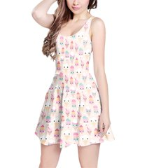 kawaii icecream sleeveless dress