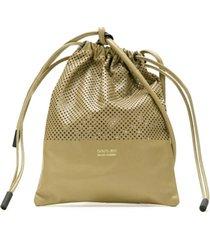 osklen bolsa pochete mini sack - neutro