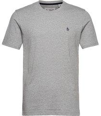 small logo short sleeved t-shirt t-shirts short-sleeved grå original penguin