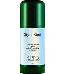 cera em bastão k.pro style stick 40g