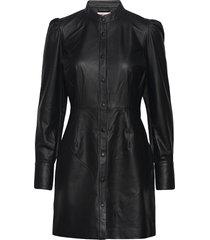 loulou jurk knielengte zwart custommade