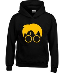 buzo  saco capota  harry potter cara
