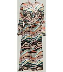 summum 5s1228-11317 120 dress multi colour viscose multicolour