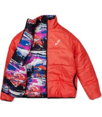 lrg men's alpine divine reversible puffer jacket