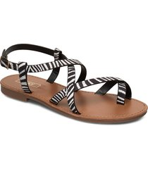 onlmandala aop crossover sandal shoes summer shoes flat sandals svart only