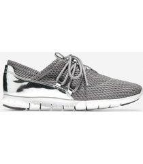 calzado dama gris  zerogrand quilted sneaker cole haan