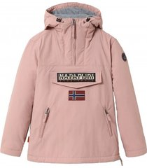 napapijri jas women rainforest pocket 3 pink woodrose-l