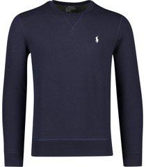 sweater donkerblauw ralph lauren