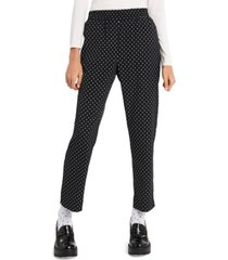 riley & rae louisa pull-on polka-dot pants, created for macy's