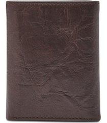 fossil men's neel trifold wallet