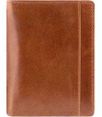 mancini casablanca collection men's rfid secure center unique vertical wing wallet