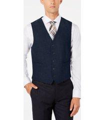 ryan seacrest distinction men's modern-fit stretch solid vest, created for macy's