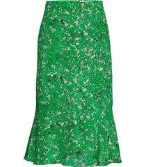 maalia si knälång kjol grön tiger of sweden