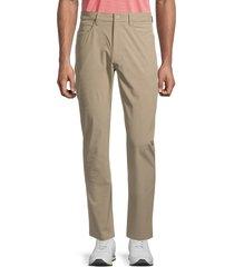 callaway men's five-pocket pants - khaki - size 32 30