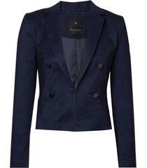 blazer botoes denim (azul medio / blue, 48)