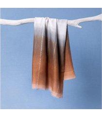 lenço goa cor: cáqui - tamanho: único