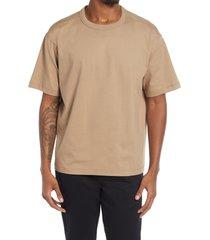 bp. solid crewneck t-shirt, size xx-large - brown