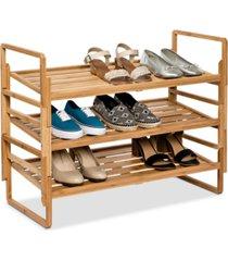 honey can do 3-tier nesting shoe rack
