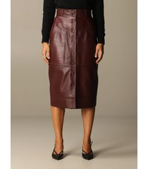 alberta ferretti skirt alberta ferretti leather pencil skirt