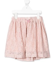 raspberry plum brexley lace skirt - pink